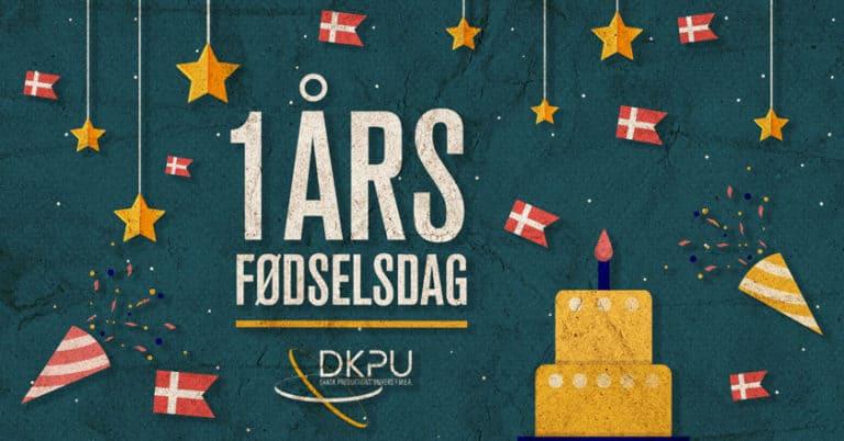 DKPU FMBA har et års fødselsdag