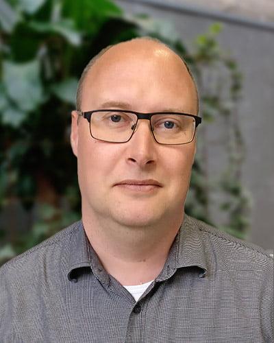 Billede af Kim Jespersen, seniorrådgiver hos DKPU
