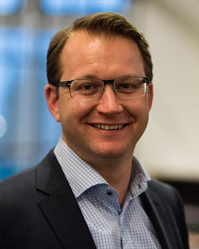 Billede af Claus Højgaard adm. direktør af DKPU